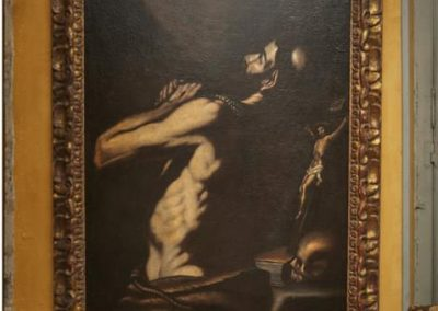 caravage Saint Jérome  - Photo Olvier Metzger