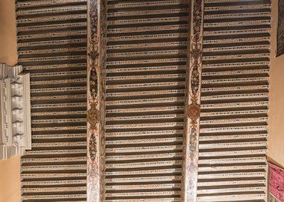 Les plafonds de l'Hôtel d'Agar